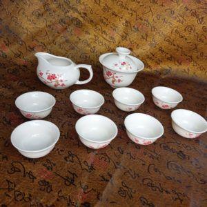 Чайный набор - Благополучие 10 приборов | красный
